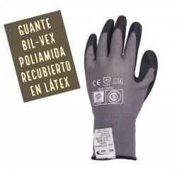 GUANTE BIL-VEX Poliamida recubierto en Látex