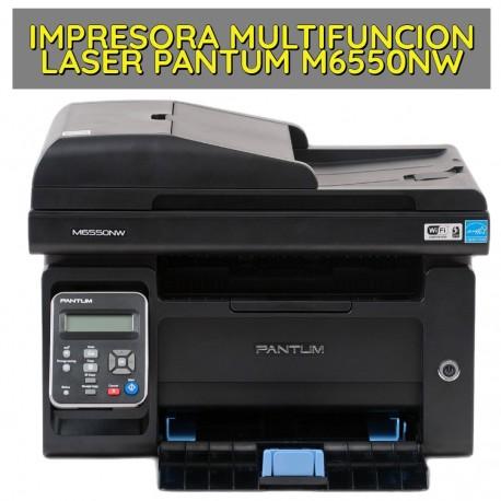 IMPRESORA MULTIFUNCION LASER MARCA PANTUM M6550NW