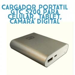 CARGADOR PORTATIL GTC 5200
