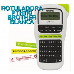 ROTULADORA PTH110 BROTHER BLANCA