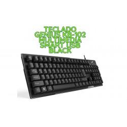 TECLADO GENIUS KB-102 SMART USB BLACK