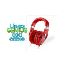 AURICULAR GAMER GX GAMING GENIUS HS-610 RED