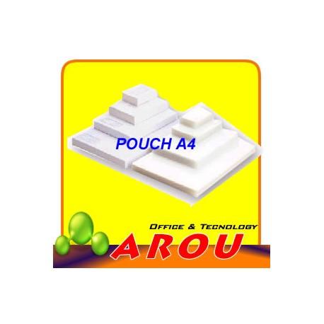POUCH PLATIFICAR A4 150 MICRONES